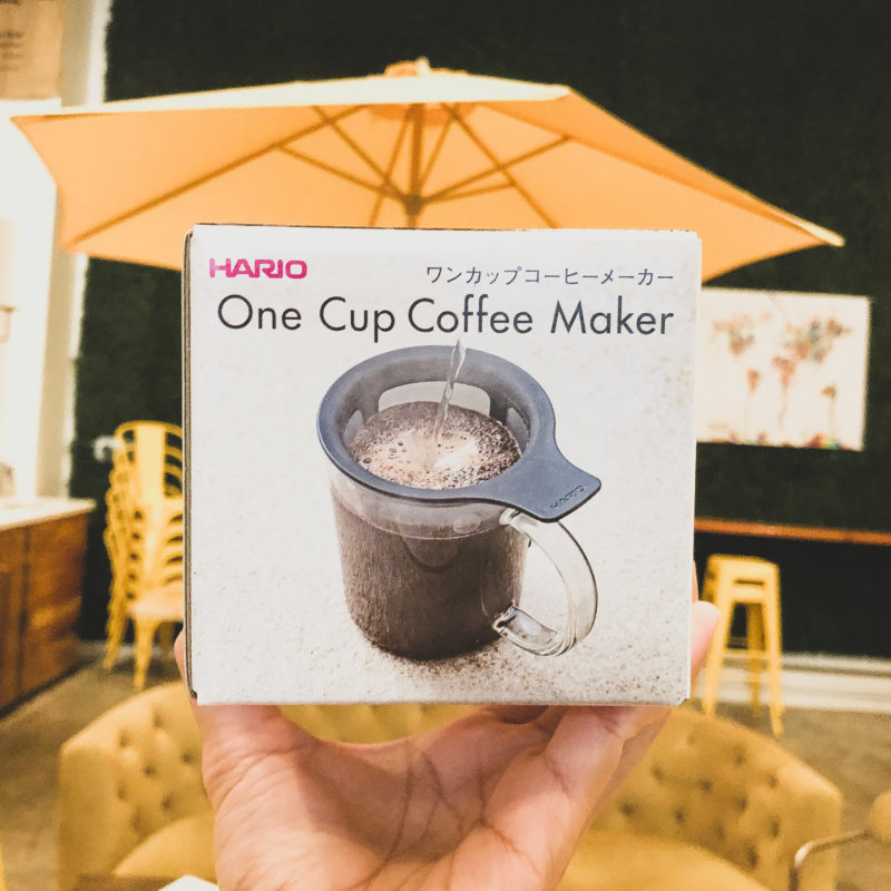 Hario One Cup Coffee & Tea Maker